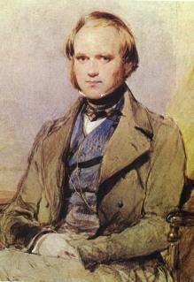 Charles Darwin at age 31 in 1840